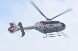 500さんが、自宅上空で撮影した中日本航空 EC135P2+の航空フォト(飛行機 写真・画像)