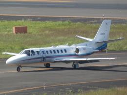 宮城の航空ファンさんが、仙台空港で撮影した朝日新聞社 560 Citation Encoreの航空フォト(飛行機 写真・画像)