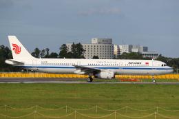 ゆずしょうゆさんが、成田国際空港で撮影した中国国際航空 A321-232の航空フォト(飛行機 写真・画像)