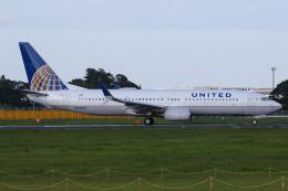 ゆずしょうゆさんが、成田国際空港で撮影したユナイテッド航空 737-824の航空フォト(飛行機 写真・画像)