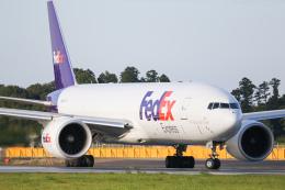 ゆずしょうゆさんが、成田国際空港で撮影したフェデックス・エクスプレス 777-FS2の航空フォト(飛行機 写真・画像)