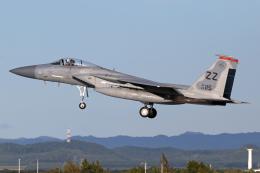 Echo-Kiloさんが、千歳基地で撮影したアメリカ空軍 F-15C-40-MC Eagleの航空フォト(飛行機 写真・画像)