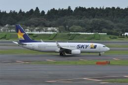 kumagorouさんが、成田国際空港で撮影したスカイマーク 737-8FZの航空フォト(飛行機 写真・画像)