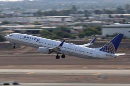 キャスバルさんが、フェニックス・スカイハーバー国際空港で撮影したユナイテッド航空 737-924/ERの航空フォト(飛行機 写真・画像)