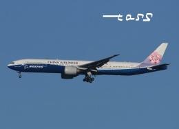 tassさんが、成田国際空港で撮影したチャイナエアライン 777-309/ERの航空フォト(飛行機 写真・画像)