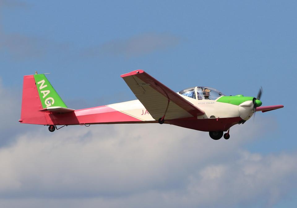 LOTUSさんの日本個人所有 Scheibe SF-25 Falke (JA2261) 航空フォト