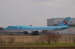 木人さんが、成田国際空港で撮影した大韓航空 747-4B5の航空フォト(飛行機 写真・画像)