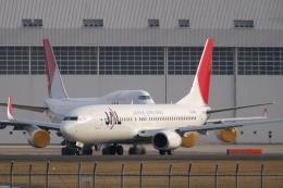 木人さんが、成田国際空港で撮影した日本航空 737-846の航空フォト(飛行機 写真・画像)