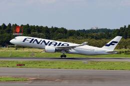 やまモンさんが、成田国際空港で撮影したフィンエアー A350-941の航空フォト(飛行機 写真・画像)