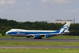 やまモンさんが、成田国際空港で撮影したエアブリッジ・カーゴ・エアラインズ 747-8HVFの航空フォト(飛行機 写真・画像)