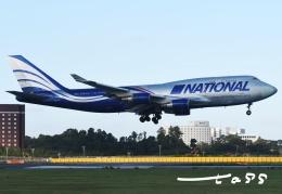 tassさんが、成田国際空港で撮影したナショナル・エアラインズ 747-428(BCF)の航空フォト(飛行機 写真・画像)