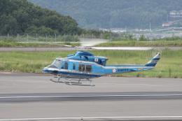 神宮寺ももさんが、高松空港で撮影した愛知県警察 412EPの航空フォト(飛行機 写真・画像)