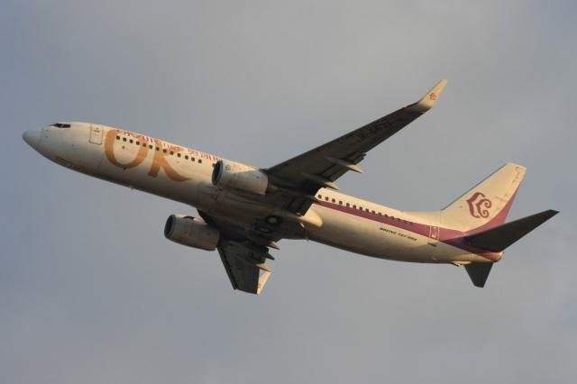 S.Hayashiさんが、関西国際空港で撮影した奥凱航空 737-86Nの航空フォト(飛行機 写真・画像)