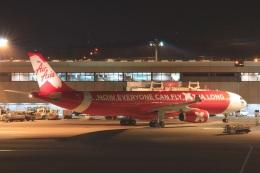S.Hayashiさんが、成田国際空港で撮影したタイ・エアアジア・エックス A330-343Xの航空フォト(飛行機 写真・画像)