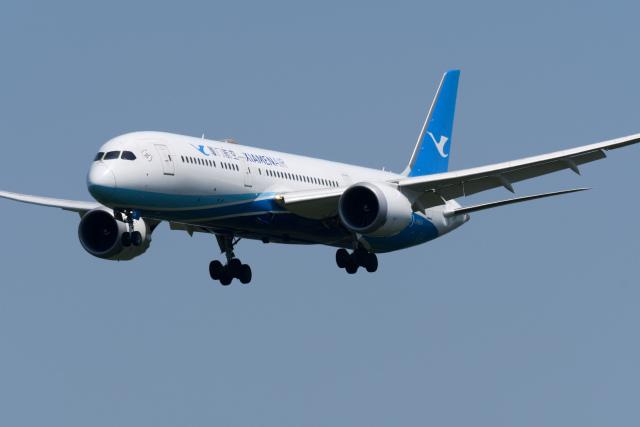 panchiさんが、成田国際空港で撮影した厦門航空 787-9の航空フォト(飛行機 写真・画像)