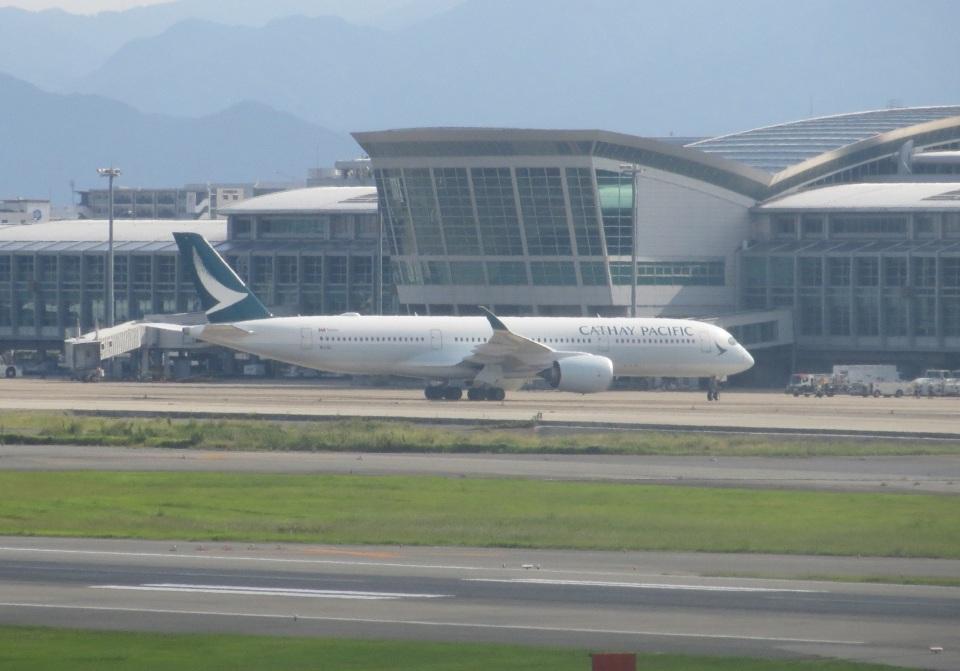 commet7575さんのキャセイパシフィック航空 Airbus A350-900  (B-LQC) 航空フォト