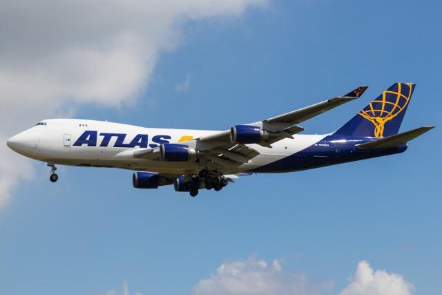 walker2000さんが、成田国際空港で撮影したアトラス航空 747-46NFの航空フォト(飛行機 写真・画像)