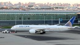 誘喜さんが、羽田空港で撮影したユナイテッド航空 787-9の航空フォト(飛行機 写真・画像)