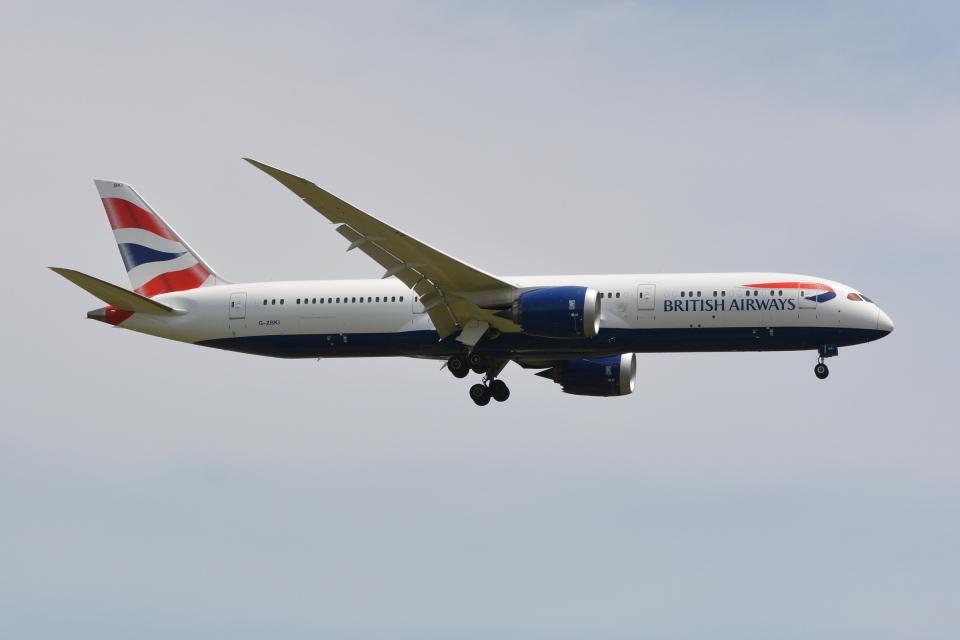 Deepさんのブリティッシュ・エアウェイズ Boeing 787-9 (G-ZBKI) 航空フォト