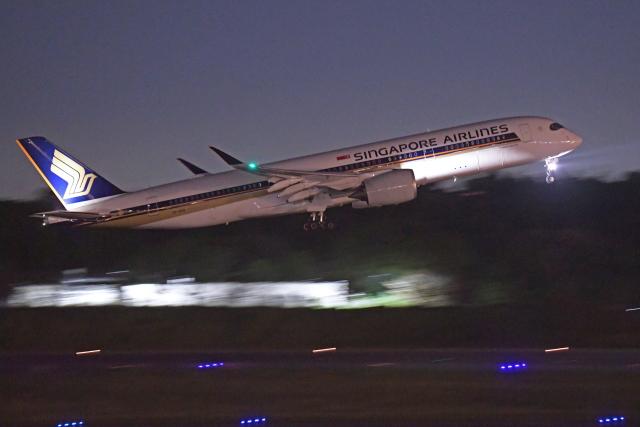 Souma2005さんが、成田国際空港で撮影したシンガポール航空 A350-941の航空フォト(飛行機 写真・画像)