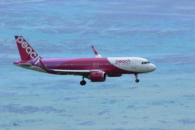さとさとさんが、石垣空港で撮影したピーチ A320-251Nの航空フォト(飛行機 写真・画像)