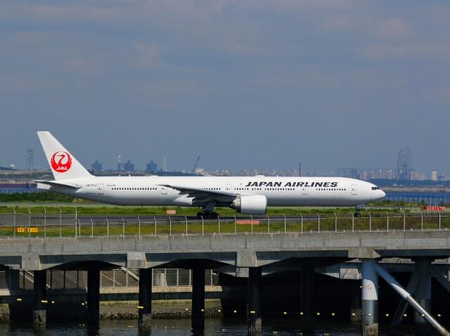 t.anrakuさんが、羽田空港で撮影した日本航空 777-346/ERの航空フォト(飛行機 写真・画像)
