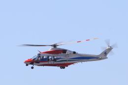 non-nonさんが、鹿屋航空基地で撮影した鹿児島県防災航空隊 AW139の航空フォト(飛行機 写真・画像)