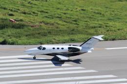 さとさとさんが、石垣空港で撮影した岡山航空 510 Citation Mustangの航空フォト(飛行機 写真・画像)