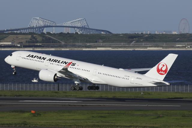 航空フォト:JA10XJ 日本航空 A350-900