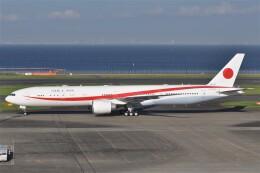 fly A340さんが、羽田空港で撮影した航空自衛隊 777-3SB/ERの航空フォト(飛行機 写真・画像)