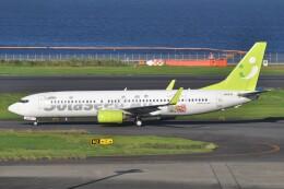fly A340さんが、羽田空港で撮影したソラシド エア 737-86Nの航空フォト(飛行機 写真・画像)