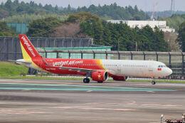 やまモンさんが、成田国際空港で撮影したベトジェットエア A321-271Nの航空フォト(飛行機 写真・画像)