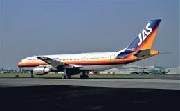ハミングバードさんが、名古屋飛行場で撮影した日本エアシステム A300B2K-3Cの航空フォト(飛行機 写真・画像)