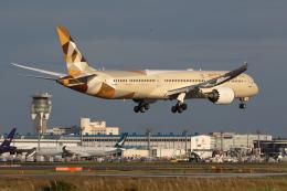 やまけんさんが、成田国際空港で撮影したエティハド航空 787-10の航空フォト(飛行機 写真・画像)