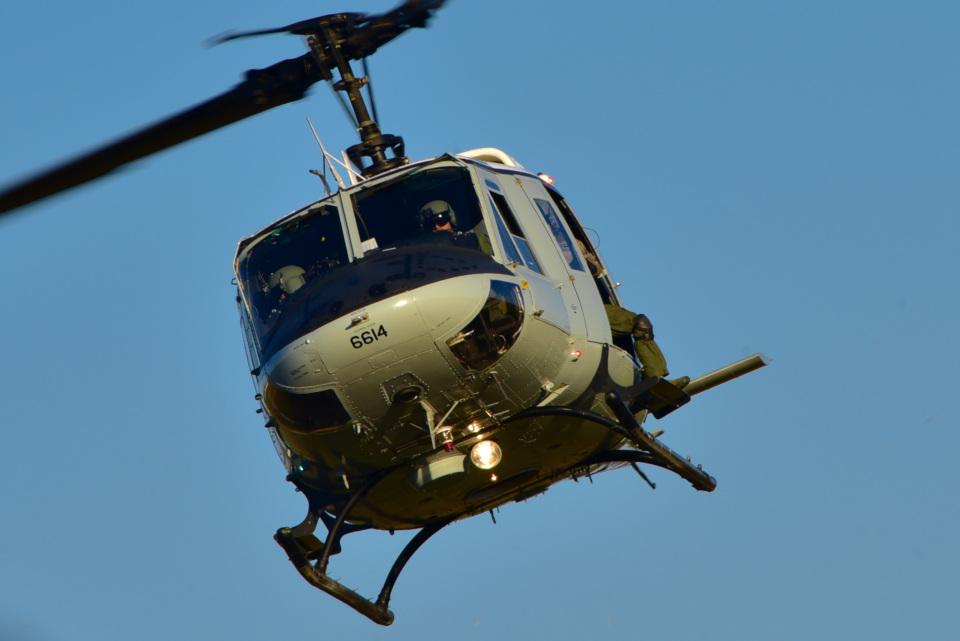 パンダさんのアメリカ空軍 Bell UH-1N Twin Huey (69-6614) 航空フォト