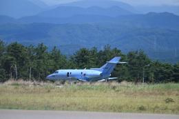 どんちんさんが、小松空港で撮影した航空自衛隊 U-125A(Hawker 800)の航空フォト(飛行機 写真・画像)