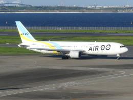 トタさんが、羽田空港で撮影したAIR DO 767-381の航空フォト(飛行機 写真・画像)