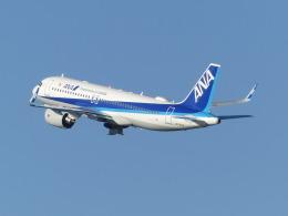 トタさんが、羽田空港で撮影した全日空 A320-271Nの航空フォト(飛行機 写真・画像)