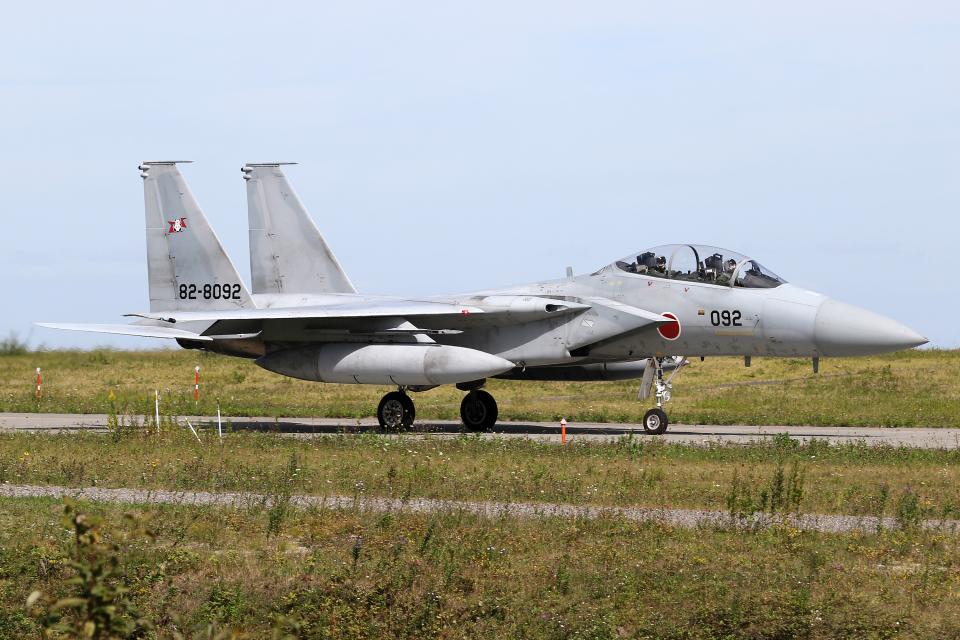 Echo-Kiloさんの航空自衛隊 Mitsubishi F-15DJ Eagle (82-8092) 航空フォト