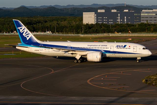 Snowman☃️さんが、新千歳空港で撮影した全日空 787-8 Dreamlinerの航空フォト(飛行機 写真・画像)