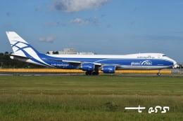 tassさんが、成田国際空港で撮影したエアブリッジ・カーゴ・エアラインズ 747-83QFの航空フォト(飛行機 写真・画像)