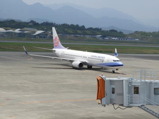 EITO #NRTさんが、高松空港で撮影したチャイナエアライン 737-8Q8の航空フォト(飛行機 写真・画像)