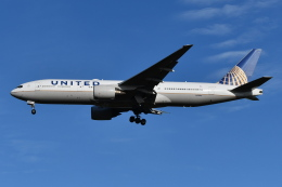 Deepさんが、成田国際空港で撮影したユナイテッド航空 777-222/ERの航空フォト(飛行機 写真・画像)