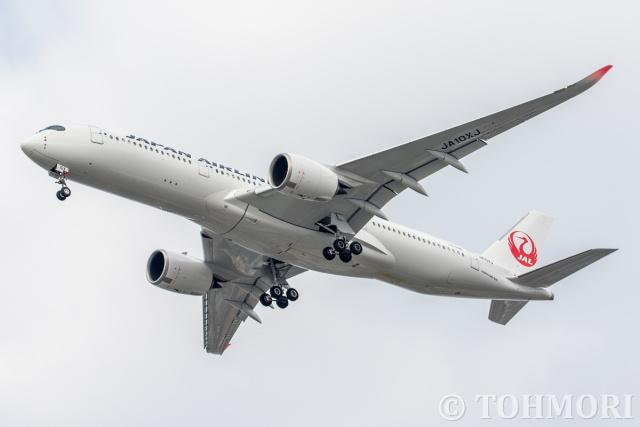 遠森一郎さんが、福岡空港で撮影した日本航空 A350-941の航空フォト(飛行機 写真・画像)