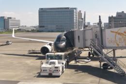 KKiSMさんが、羽田空港で撮影したスターフライヤー A320-214の航空フォト(飛行機 写真・画像)