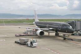 KKiSMさんが、関西国際空港で撮影したスターフライヤー A320-214の航空フォト(飛行機 写真・画像)