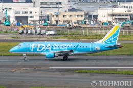 遠森一郎さんが、福岡空港で撮影したフジドリームエアラインズ ERJ-170-100 (ERJ-170STD)の航空フォト(飛行機 写真・画像)