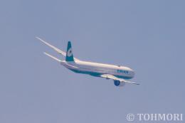 遠森一郎さんが、福岡空港で撮影したエバー航空 777-36N/ERの航空フォト(飛行機 写真・画像)