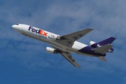 LAX Spotterさんが、ロサンゼルス国際空港で撮影したフェデックス・エクスプレス MD-10-30Fの航空フォト(飛行機 写真・画像)