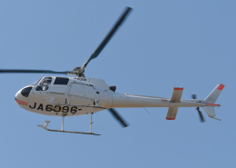 チャーリーマイクさんが、東京ヘリポートで撮影した日本個人所有 AS350B Ecureuilの航空フォト(飛行機 写真・画像)